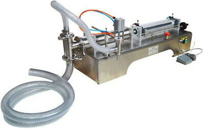 110v Liquid Filling Machine 50-500ml With One Nozzle Full Pneumatic Filler