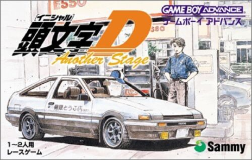 INITIAL D Another Stage Gameboy Advance GBA Japan
