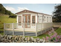 Luxury static caravan holiday home for sale East Yorkshire Hornsea nr Bridlington Scarborough Filey.