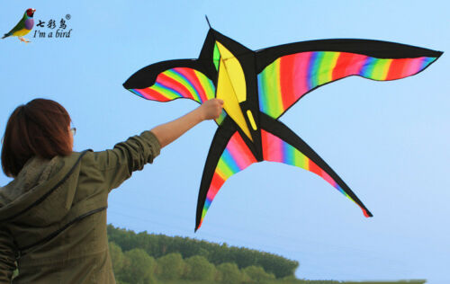 NEW 68 In Swallow kite bird single line Sport Kite outdoor s