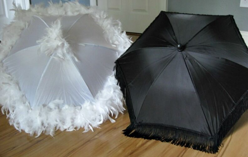 Second Line Wedding Umbrellas New Orleans Authentic Parasols Mardi Gras Fringe