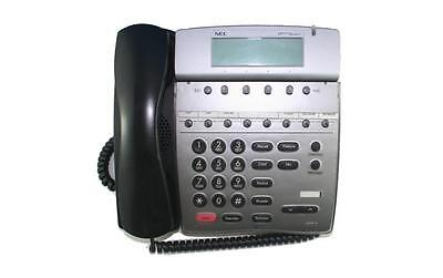 Lot Of 5 Fully Refurbished Nec Dtr 8d-2 Telephone Black