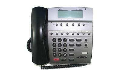 Lot Of 10 Fully Refurbished Nec Dtr 8d-2 Telephone Black
