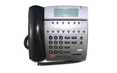 Fully Refurbished Nec Dtr 8d-2 Telephone Black
