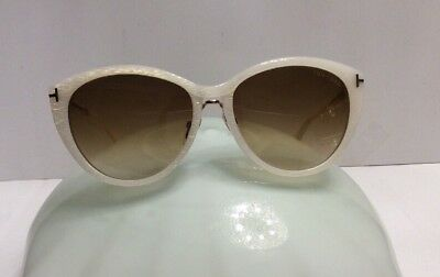 TOM FORD SUGLASSES GINA TF345 Color 20 F Ivory Gold