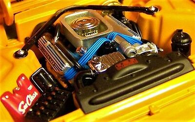 T bird Thunderbird w Engine Motor & Chrome Wheel Ford Convertible 1961 1962 1963