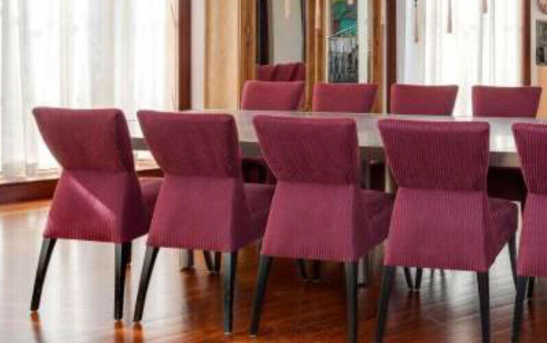 Set Of 4 Chairs Designed By Jamie Bouzaglo  For Brueton Industries