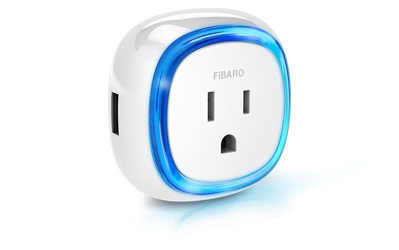 Fibaro Wall Plug with USB