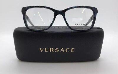 VERSACE MOD. 3192-B 5127 WOMENS FRAMES EYE GLASSES EYEWEAR 52-16-140 NEW w. CASE