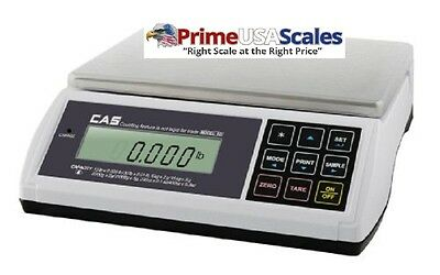Cas Ed-15 Digital Bench Counter Scale 06 X 0.002 Lbs615 X 0.005 Lbs