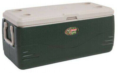 Large Coleman Cooler 150 Quart Cold Ice Chest Insulated Fishing Xtreme Green ()