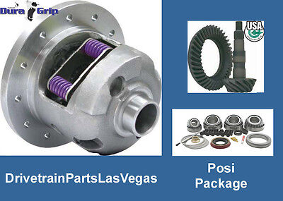 "Yukon DuraGrip Posi Pkg GM 8.6"" 3.42 Ratio Gear Set Master Rebuild Kit 2009-2014"