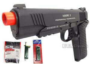 NEW-KWA-MARK-II-1911-PTP-Tactical-Metal-Airsoft-Gas-Pistol-Blowback-Gun-PACKAGE