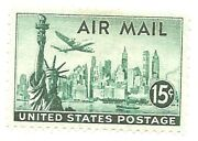 15 Cent Air Mail Stamp