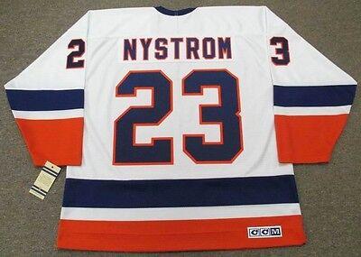 BOB NYSTROM New York Islanders 1982 CCM Vintage Home NHL Hockey Jersey