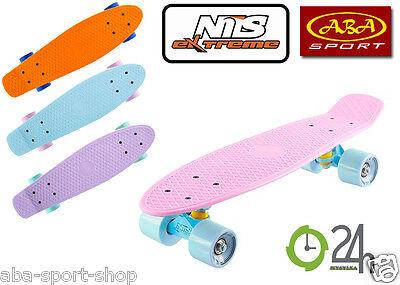 NILS Skateboard Pennyboard Funboard Penny Mini Cruiser Board Streetboard Penny