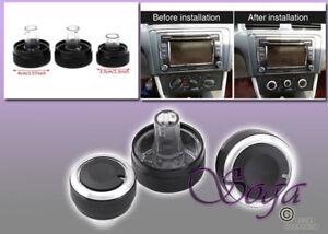 FOR VW JETTA GOLF PASSAT MK5 AC CONDITION PANEL CONTROL SWITCH KNOB REPLACE 3PCS