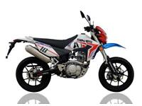 SINNIS APACHE 125cc SUPERMOTO, BRAND NEW, 0% FINANCE, 24 MONTHS WARRANTY