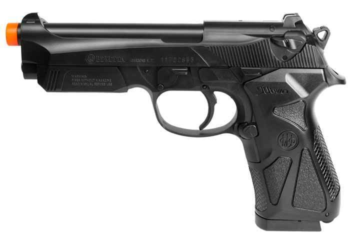 Beretta 90 Two Black Airsoft Spring Pistol Includes BBs New