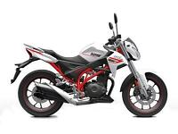 SINNIS RSX125 EFI - NEW MODEL - PRICE TBA