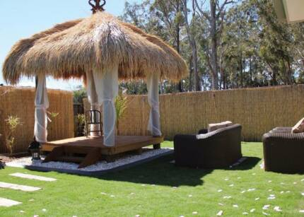 Bali Huts, Colorbond Gazebos and Timber decking