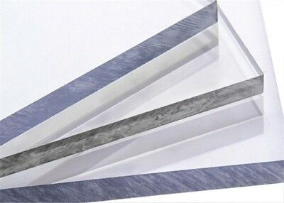 New Clear Polycarbonate Sheets .3750 Thickness 26x48 Lexan
