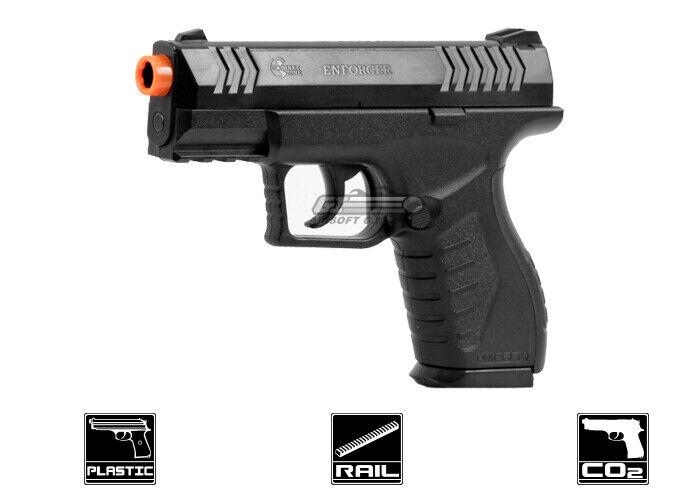 Combat Zone Enforcer CO2 Airsoft Pistol (Black) 10880