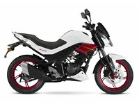 *Brand New* Sinnis RS 125. 24 mths Warranty. Supermoto. Main dealer. Free delivery