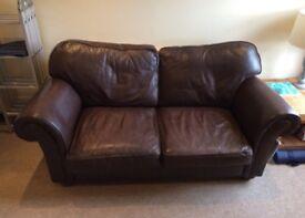 Free learher sofa. Very comfy.