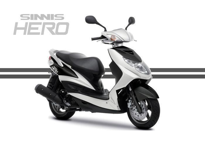 SINNIS HERO 125CC SCOOTER, BRAND NEW, FULL AA WARRANTY&RECOVERY for sale  Weston-super-Mare, Somerset