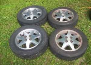 Ford escort alloys with good tires