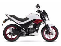 *Brand New* Sinnis RS 125. 3 yr Warranty Free Delivery Main dealer