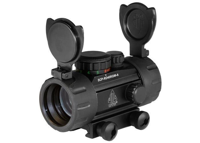 Gun Scope UTG 30mm Red/Green Dot Sight, Integral Picatinny Mounting Deck