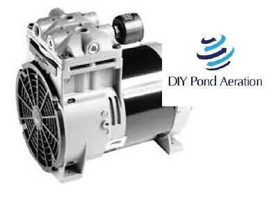 New Thomas Piston Compressorvacuum Pump Aerator 27hg 45psi 2 Cfm 2yr Warranty