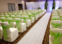 Lime Green Sashes and Runners!