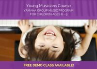 Young Musicians Course for Ages 6-9 in Markham and Richmond Hill