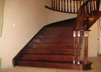 Solid Canadian Red Oak Stairs and Stair Components at an UNBEATA