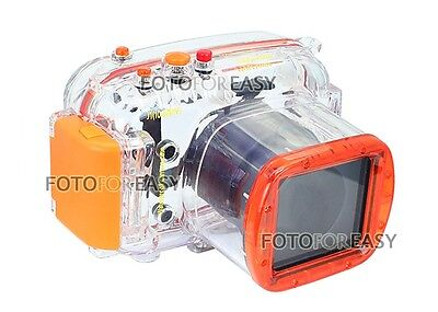 40M Waterproof Underwater Housing Hard Case Bag for Nikon J1 10-30mm Lens Camera