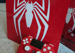 NEW IN BOX Spider-man PS4 1TB PRO Limited Collectors Edition