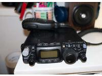 Yaesu FT817ND - HF VHF UHF Radio