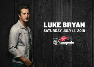 ★★Luke Bryan ★★Scotiabank Saddledome, SAT Jul 14 7:30PM