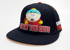South Park Cartman Screw You Guys Snapback Hat Cap UNDER BRIM! - Licensed
