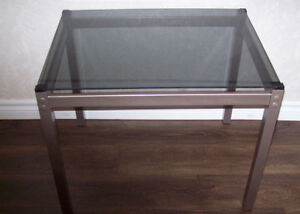 TABLES END GLASS TOPS