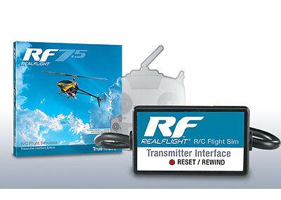 Great Planes GPMZ4525 RealFlight 7.5 w/ Wired Interface RC Flight Simulator