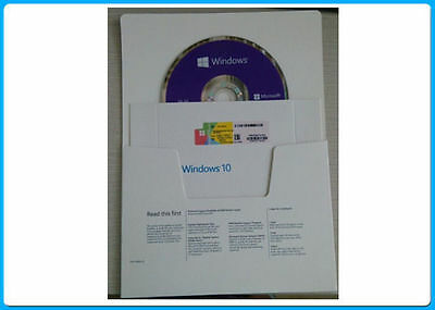 Genuine Sealed Microsoft Windows 10 home 64 Bit DVD with product key
