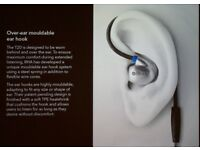 RHA T20 Earphones Headphones - Stainless Steel Noise Isolating - Dual Coil - Tuning filters.