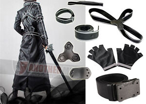Another Me Sword Art Online Kirito Anime Cosplay Costume Top Quality Any Size
