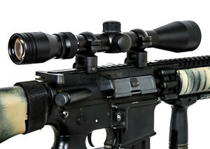 NCSTAR SFB3940G 3-9X40 GEN II SERIES FULL SIZE P4 SNIPER TACTICAL SCOPE BLACK