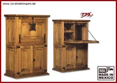 Mexikanische Schlafzimmer-möbel (Landhausstil Barschrank Hausbar Bar Weinschrank, Pinie, original Mexiko Möbel)