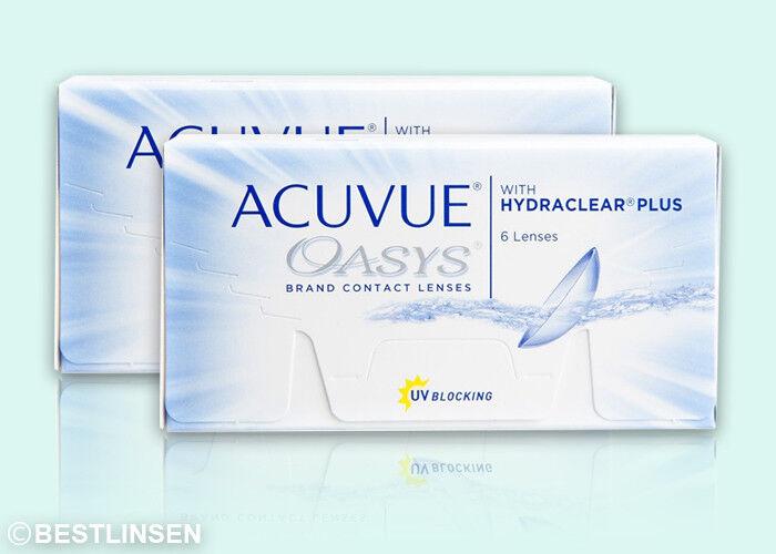 Acuvue Oasys Hydraclear PLUS Johnson&Johnson 2x6 Kontaktlinsen BC 8.4
